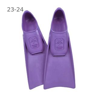 Ласты детские грудничковые Propercarry Super Elastic, размер - 23-24, цвет - фиолетовый, 100% натуральный каучук