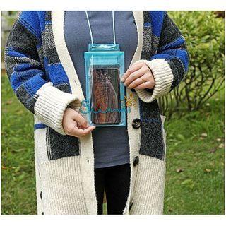 Герметичный непромокаемый чехол для телефона , цвет - фиолетовый, ПВХ, рис. 5 - Swimi - интернет магазин