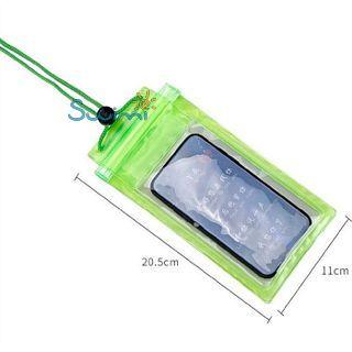 Герметичный непромокаемый чехол для телефона , цвет - фиолетовый, ПВХ, рис. 3 - Swimi - интернет магазин