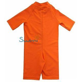 УФ-защитный детский гидрокостюм IQ-UV Shorty Jolly Fish, рост - 80-86 см, возраст - 1-1,5 года, оранжевый, рис. 2 - Swimi - интернет магазин