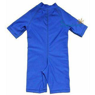УФ-защитный детский гидрокостюм IQ-UV Shorty Jolly Fish, рост - 104-110 см, возраст - 4-5 лет, синий, рис. 2 - Swimi - интернет магазин
