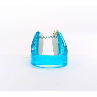 Ласты детские грудничковые Propercarry Super Elastic, размер - 23-24, цвет - зелёный, 100% натуральный каучук + Клписа зажим для носа, рис. 7 - Swimi - интернет магазин