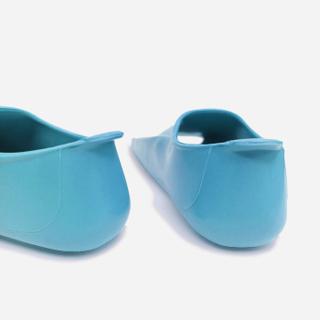 Ласты детские для бассейна Propercarry Super Elastic, размер - 25-26, цвет - голубой (аква), 100% натуральный каучук, рис. 2 - Swimi - интернет магазин