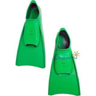 Ласты детские Propercarry укороченные тренировочные, размер - 29-30, цвет - зелёный, 100% натуральный каучук, рис. 6 - Swimi - интернет магазин