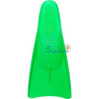 Ласты детские Propercarry укороченные тренировочные, размер - 31-32, цвет - зелёный, 100% натуральный каучук, рис. 2 - Swimi - интернет магазин