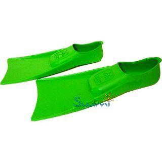 В бассейн - детские ласты Propercarry Super Elastic зелёные из мягкой природной резины с закрытой пяткой, 25-26 размер и детские очки для плавания Cressi Crab розовые, рис. 6 - Swimi - интернет магазин