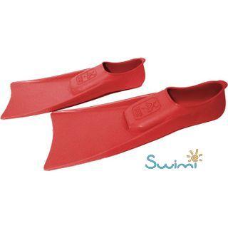 Ласты детские грудничковые Propercarry Super Elastic, размер - 23-24, цвет - красный, 100% натуральный каучук + Детские очки для плавания Cressi Crab, рис. 6 - Swimi - интернет магазин