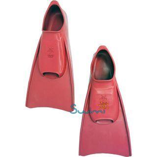 Ласты детские Propercarry укороченные тренировочные, размер - 29-30, цвет - красный, 100% натуральный каучук, рис. 6 - Swimi - интернет магазин
