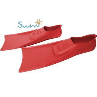Ласты детские для бассейна Propercarry Elastic, размер - 27-28, цвет - красный, 100% натуральный каучук, рис. 5 - Swimi - интернет магазин