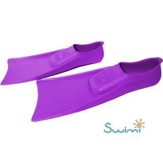 В бассейн - детские ласты Propercarry Super Elastic фиолетовые из мягкой природной резины с закрытой пяткой, 25-26 размер и детские очки для плавания Cressi Crab розовые, рис. 6 - Swimi - интернет магазин