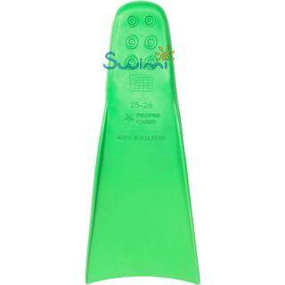 Ласты детские грудничковые Propercarry Baby Super Elastic, размер - 21-22, цвет - зелёный, 100% натуральный каучук, рис. 3 - Swimi - интернет магазин