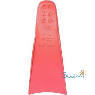 Ласты детские грудничковые Propercarry Baby Super Elastic, размер - 21-22, цвет - красный, 100% натуральный каучук, рис. 3 - Swimi - интернет магазин