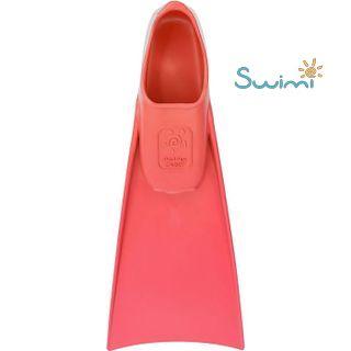 Ласты детские грудничковые Propercarry Super Elastic, размер - 23-24, цвет - красный, 100% натуральный каучук + Детские очки для плавания Cressi Crab, рис. 3 - Swimi - интернет магазин