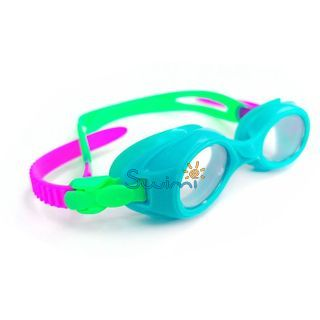 Ласты детские для бассейна Propercarry Super Elastic, размер - 25-26, цвет - фиолетовый, 100% натуральный каучук + Плавательные очки для малыша Propercarry, рис. 7 - Swimi - интернет магазин
