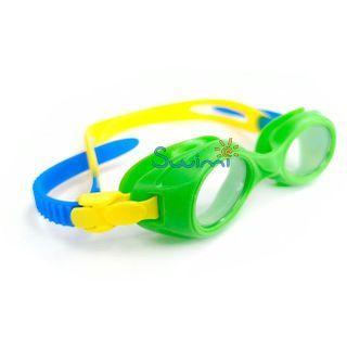 Ласты детские грудничковые Propercarry Super Elastic, размер - 23-24, цвет - зелёный, 100% натуральный каучук + Плавательные очки для малыша Propercarry, рис. 7 - Swimi - интернет магазин