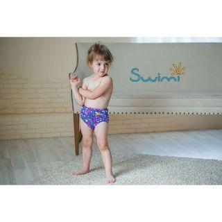 Ласты детские грудничковые Propercarry Propercarry Baby Super Elastic, размер - 21-22, цвет - фиолетовый, 100% натуральный каучук + Многоразовые трусики-подгузники ЧудоТрусики + Шапочка для плавания грудничковая ЧудоТрусики, рис. 9 - Swimi - интернет магазин