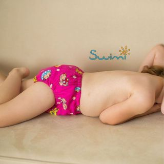 Ласты детские грудничковые Propercarry Super Elastic, размер - 23-24, цвет - красный  + Многоразовые трусики-подгузники СКАЗОЧНАЯ ИСТОРИЯ + Шапочка для плавания СКАЗОЧНАЯ ИСТОРИЯ, рис. 10 - Swimi - интернет магазин