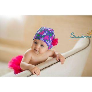Ласты детские грудничковые Propercarry Propercarry Baby Super Elastic, размер - 21-22, цвет - фиолетовый, 100% натуральный каучук + Многоразовые трусики-подгузники ЧудоТрусики + Шапочка для плавания грудничковая ЧудоТрусики, рис. 12 - Swimi - интернет магазин