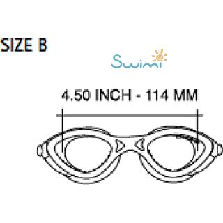 Детские очки для плавания Cressi KING CRAB, возраст - 7-15 лет, цвет - фиолетовый, цвет стёкол - прозрачный, Италия, рис. 8 - Swimi - интернет магазин
