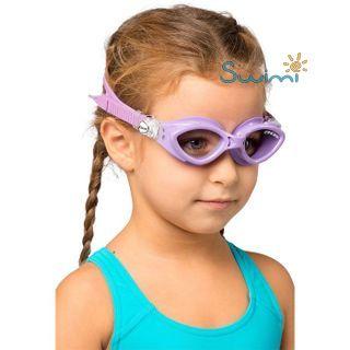 Детские очки для плавания Cressi KING CRAB, возраст - 7-15 лет, цвет - фиолетовый, цвет стёкол - прозрачный, Италия, рис. 5 - Swimi - интернет магазин