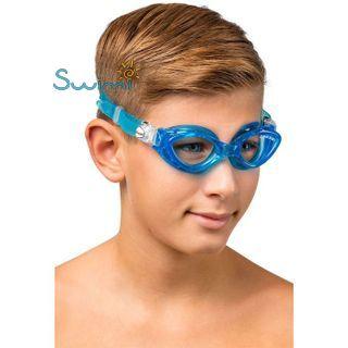 Детские очки для плавания Cressi KING CRAB, возраст - 7-15 лет, цвет - фиолетовый, цвет стёкол - прозрачный, Италия, рис. 7 - Swimi - интернет магазин