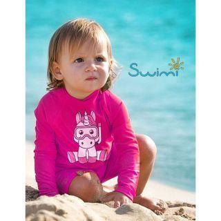 УФ-защитная детская футболка IQ-UV Unicorn Kids, рост - 116-122 см, возраст - 6-7 лет, цвет - розовый, рис. 3 - Swimi - интернет магазин