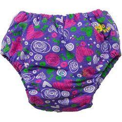 Ласты детские грудничковые Propercarry Propercarry Baby Super Elastic, размер - 21-22, цвет - фиолетовый, 100% натуральный каучук + Многоразовые трусики-подгузники ЧудоТрусики + Шапочка для плавания грудничковая ЧудоТрусики, рис. 2 - Swimi - интернет магазин