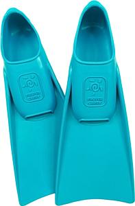 Ласты детские для бассейна Propercarry Elastic, размер - 27-28, цвет - голубой (аква), 100% натуральный каучук, рис. 1 - Swimi - интернет магазин