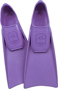 В бассейн - детские ласты Propercarry Super Elastic фиолетовые из мягкой природной резины с закрытой пяткой, 25-26 размер и детские очки для плавания Cressi Crab розовые, рис. 1 - Swimi - интернет магазин
