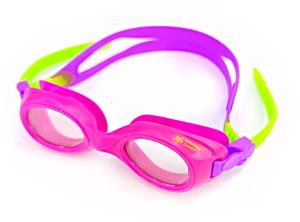 Ласты детские для бассейна Propercarry Super Elastic, размер - 25-26, цвет - фиолетовый, 100% натуральный каучук + Плавательные очки для малыша Propercarry, рис. 2 - Swimi - интернет магазин