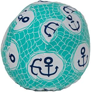Шапочка для плавания грудничковая ЧудоТрусики РАЙСКИЙ ОСТРОВ, материал - хлопок 100%, цвет - лазурный