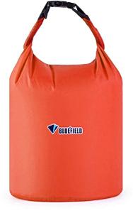 Герметичная сумка-мешок Bluefield водонепроницаемая, объём - 10 литров, цвет - красный, рис. 1 - Swimi - интернет магазин