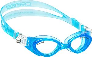 В бассейн - детские ласты Propercarry Super Elastic, 100% мягкий каучук, закрытая пятка, 25-26, фиолетовые и детские очки для плавания Cressi Crab голубые, рис. 2 - Swimi - интернет магазин