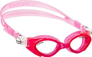 В бассейн - детские ласты Propercarry Super Elastic фиолетовые из мягкой природной резины с закрытой пяткой, 25-26 размер и детские очки для плавания Cressi Crab розовые, рис. 2 - Swimi - интернет магазин