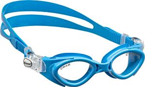 В бассейн - детские ласты Propercarry Super Elastic, 100% мягкий природный каучук, закрытая пятка, 25-26, зеленые и детские очки для плавания Cressi Crab синие, рис. 2 - Swimi - интернет магазин