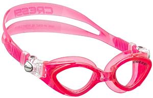 Детские очки для плавания Cressi KING CRAB, возраст - 7-15 лет, цвет - розовый, цвет стёкол - прозрачный, Италия, рис. 1 - Swimi - интернет магазин