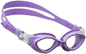 Детские очки для плавания Cressi KING CRAB, возраст - 7-15 лет, цвет - фиолетовый, цвет стёкол - прозрачный, Италия, рис. 1 - Swimi - интернет магазин